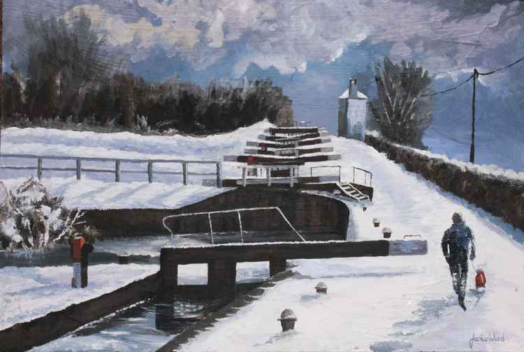 The Locks in Winter -