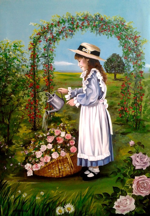Le rose del mio giardino - Image 0