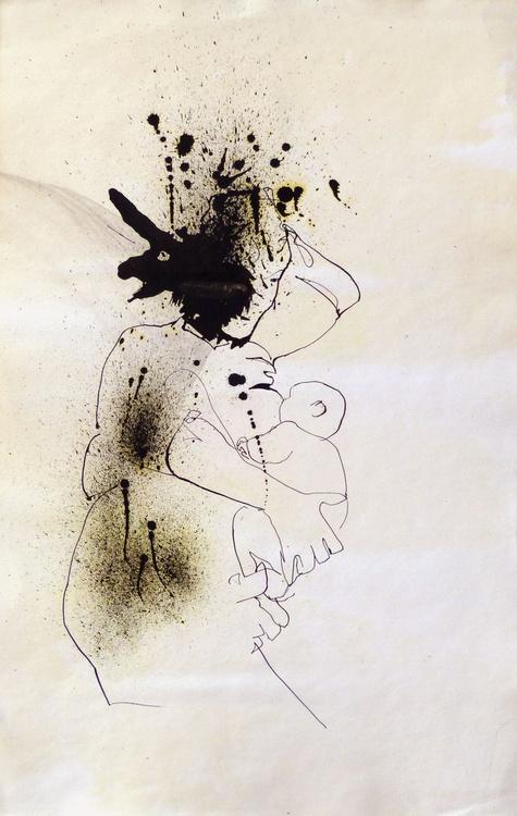 Maternity 3, 32x50 cm - Image 0