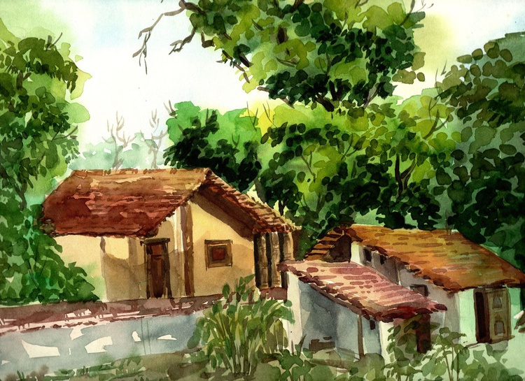 My village my country - Image 0