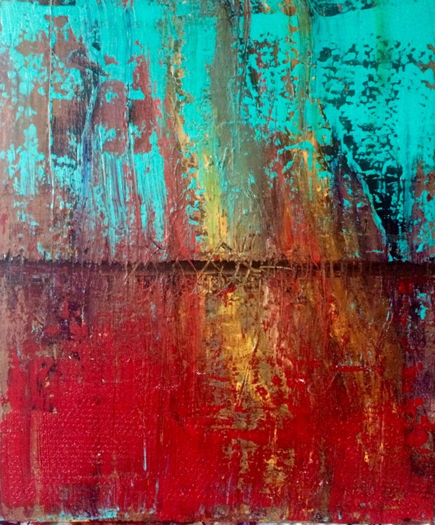 art painting // abstract painting // original painting //  50x60cm - Image 0