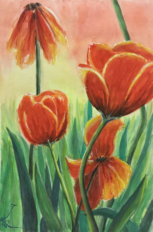 Good Morning Tulips - Image 0
