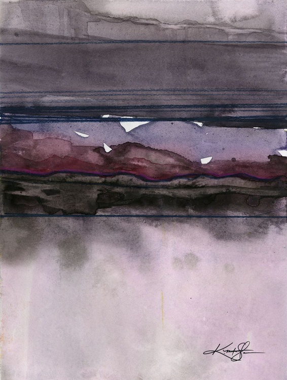 Ethereal Travels 3 - Abstract Watercolor Painting - Image 0