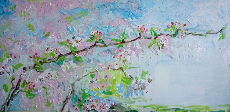 Apple blossom - Image 0