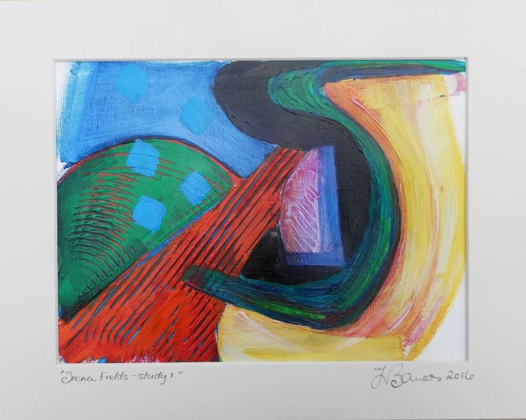 Siena Fields study 1 - Image 0