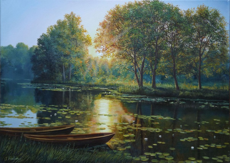 Sunny Morning on The River - Image 0