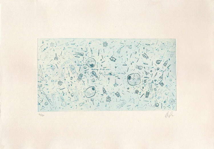 Microorganisms - blue - Image 0