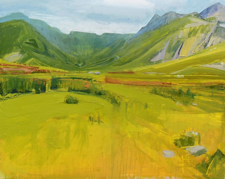 Bright Day III - In the Valley between the Band and Langdale Fell - Image 0