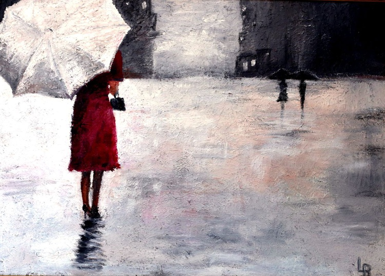 Girls With Umbrella - Image 0