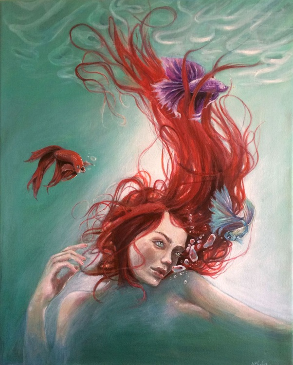 'The flame beneath the waves' - Image 0
