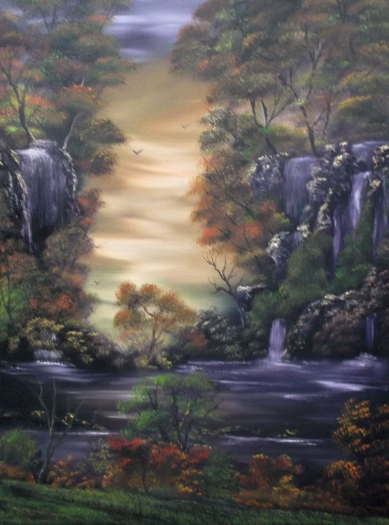 Natures Cascades. - Image 0