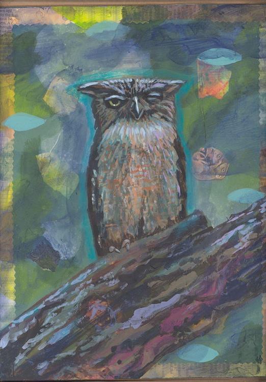 Nighttime Owl  - Image 0