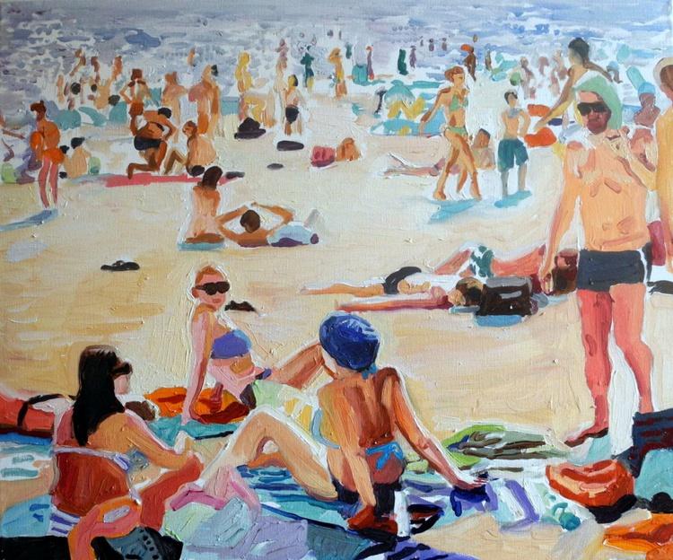 Beach Scene - Miami - Image 0