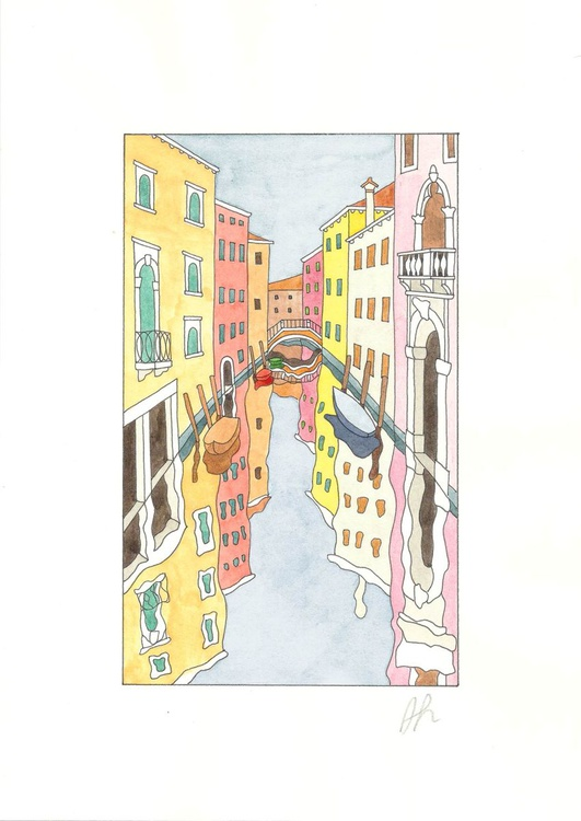 A canal in Venice - San Marco district - Image 0