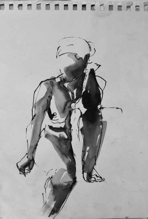 Nude sketch -