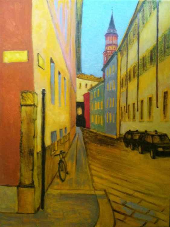 Milan street -