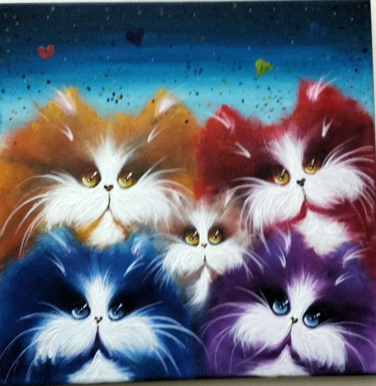 Colour cats - Image 0