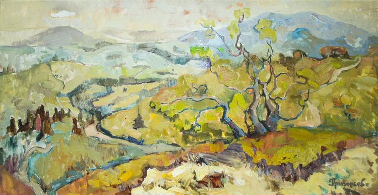 Landscape.View from Mount - Image 0