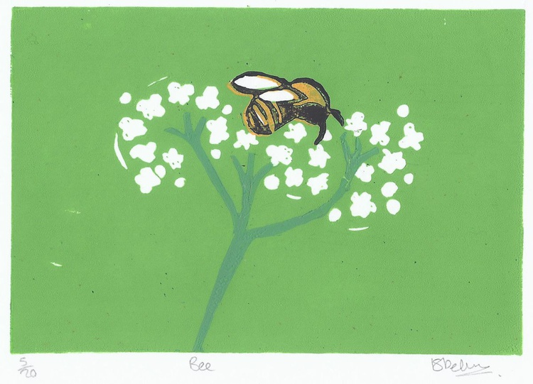 Bee and Flower - Image 0