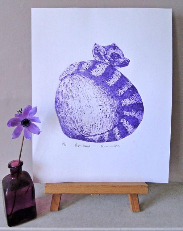 Purple Lemur - Image 0