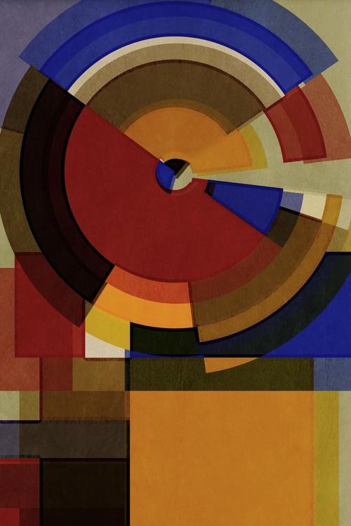 Hertz Van Bauhaus TWO, Abstract Geometric Art, Limited Edition of 6 - Image 0