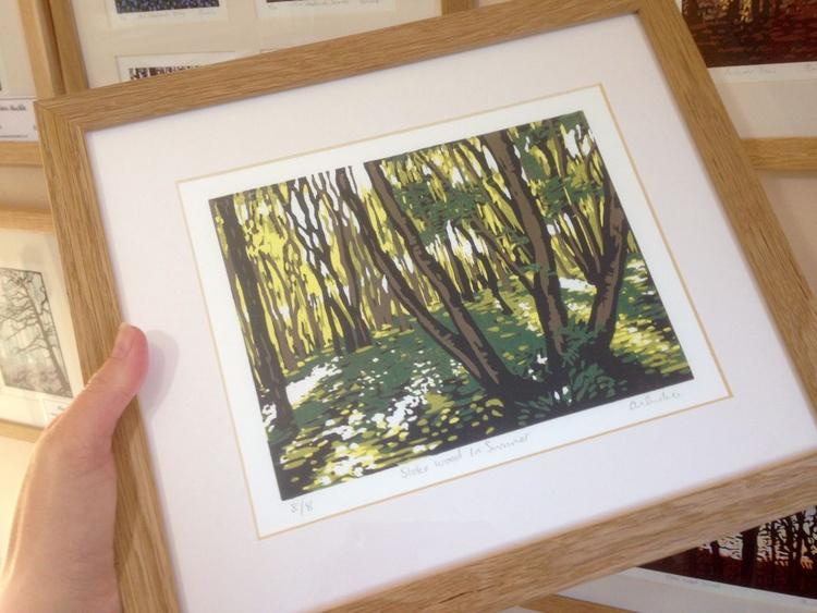 Stoke Wood in Summer, framed - Image 0