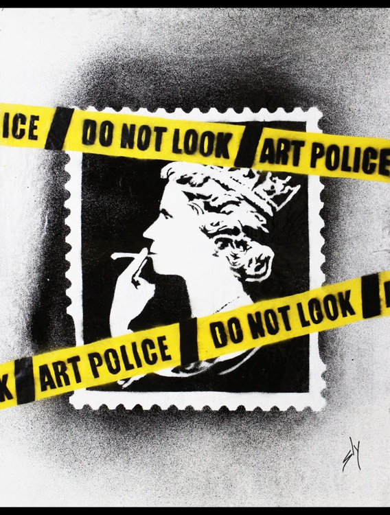 Art Police (On The Daily Telegraph) - Image 0