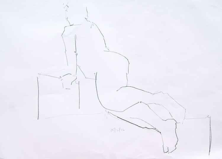 Life Drawing No 53 -