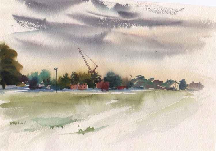 Blackheath, late afternoon -