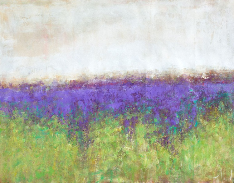 Lavender Purple Day 40x50 inches - Image 0