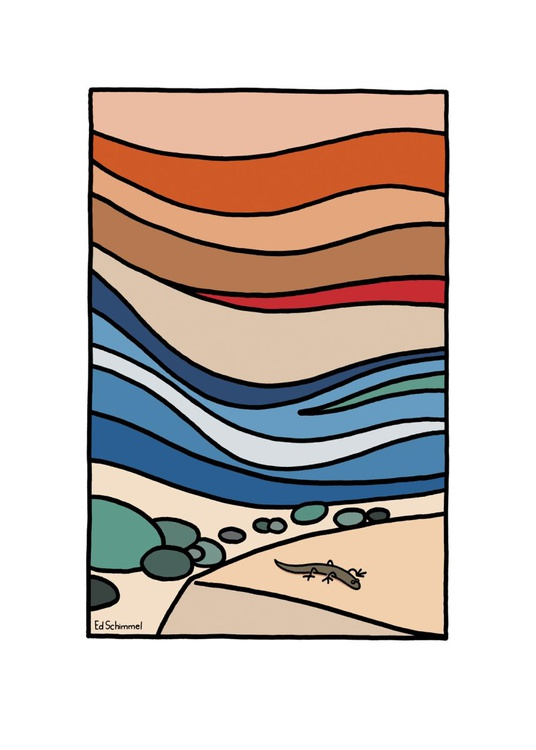 Shorncliffe - Layer upon layer - Limited edition of 50 - 50x70 - Image 0