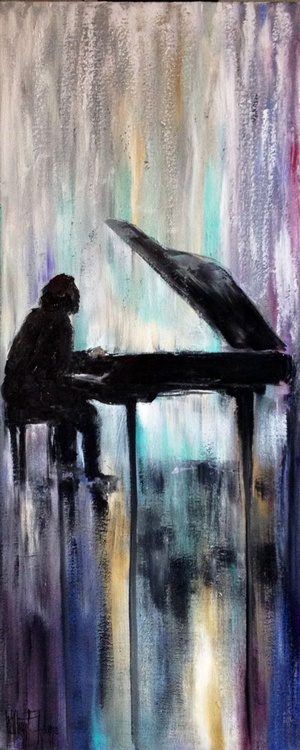 The Pianist - Abstract - Image 0