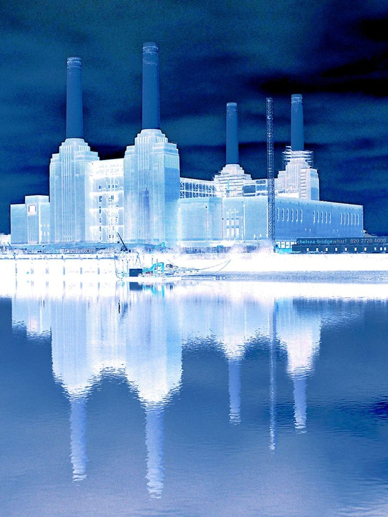 "BATTERSEA BLUE Limited edition  11/50 16""x12"" - Image 0"