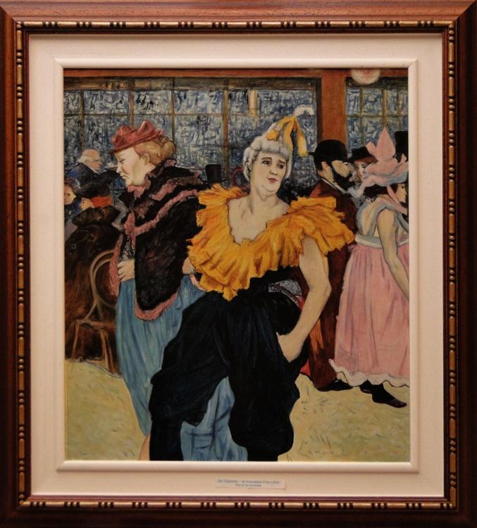 Copy from Toulouse Lautrec - LA CLOWNESSE CHA-U-KAO. - Image 0