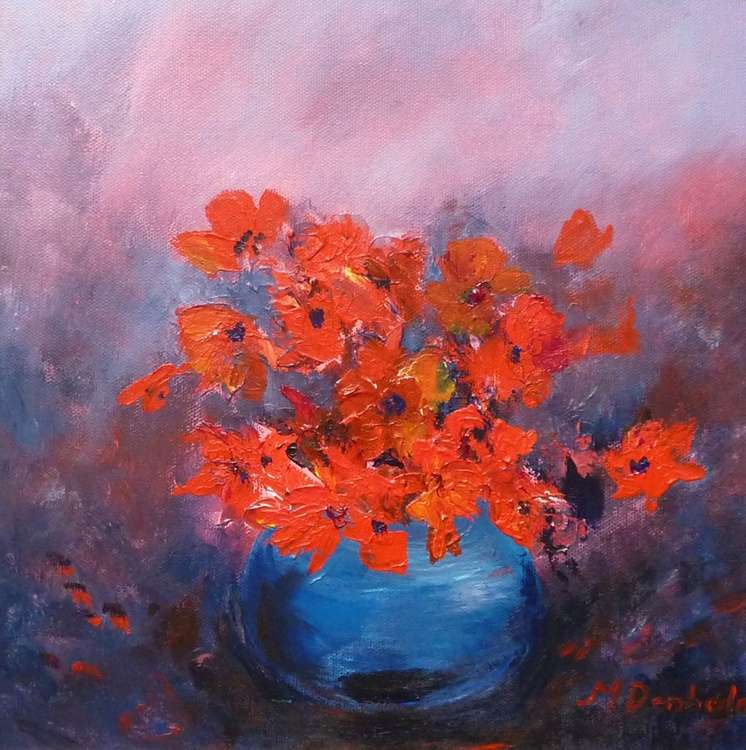 Bowl of Poppies - Image 0
