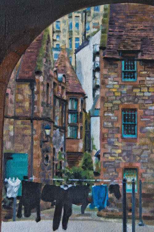 Well Court, Dean Village, Edinburgh -