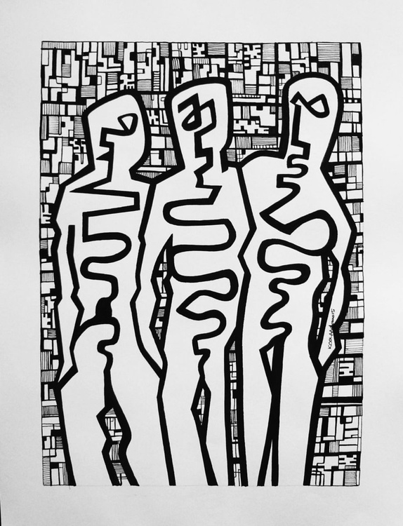 Three Figures - Image 0