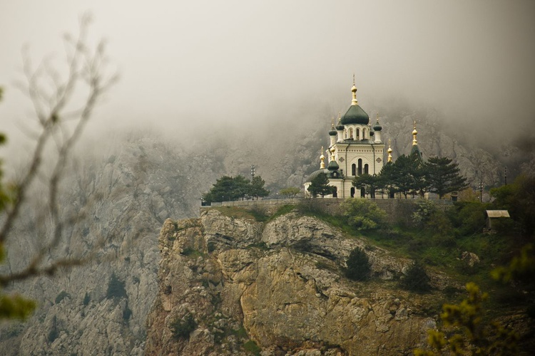 Church in Foros. - Image 0