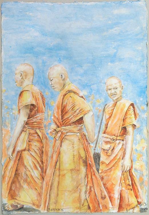 3 Monks - Image 0