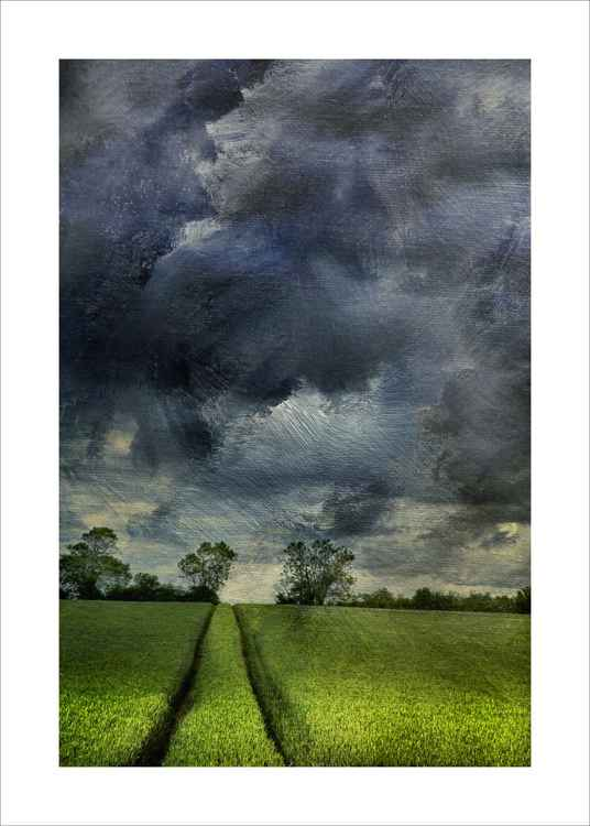 Tracks and Stormy Skies -