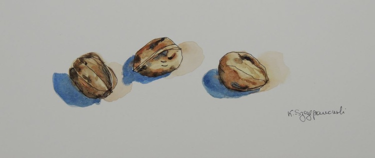 Three walnuts - Image 0