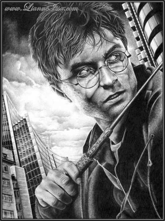 Harry Potter - Original Drawing - Collectable -