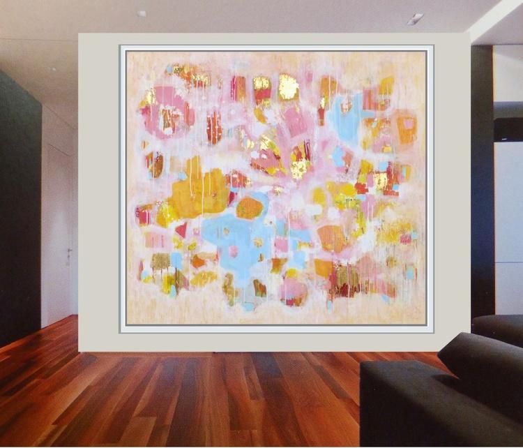 Summer Dreams -X-Large Original Painting - Image 0