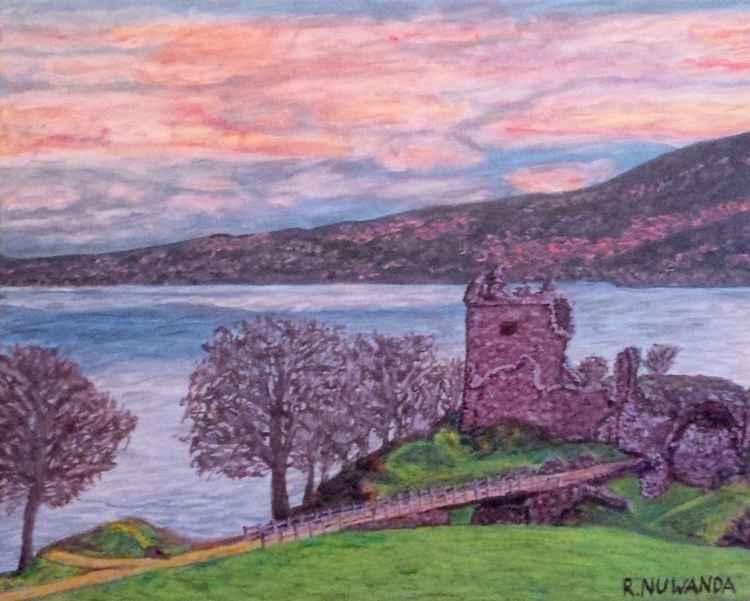 Loch Ness, Urquhart Castle -
