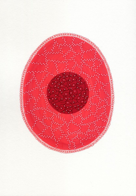 Getting Rid Of The Shit Series - Red Egg - Image 0