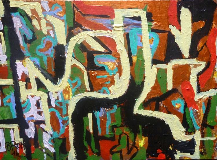 Abstraction cuivrée - Image 0