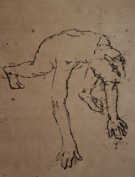 Nude on all  Fours - Image 0