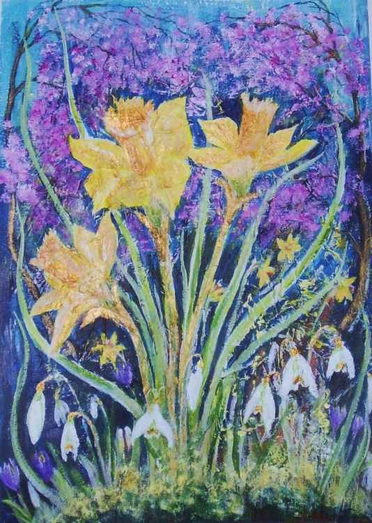 Golden Daffodils 2 -