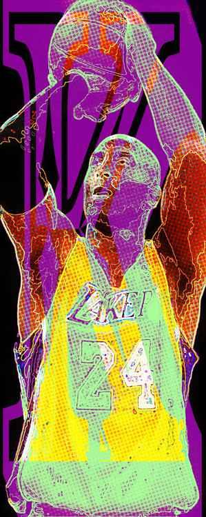 Kobe Bryant Glow -