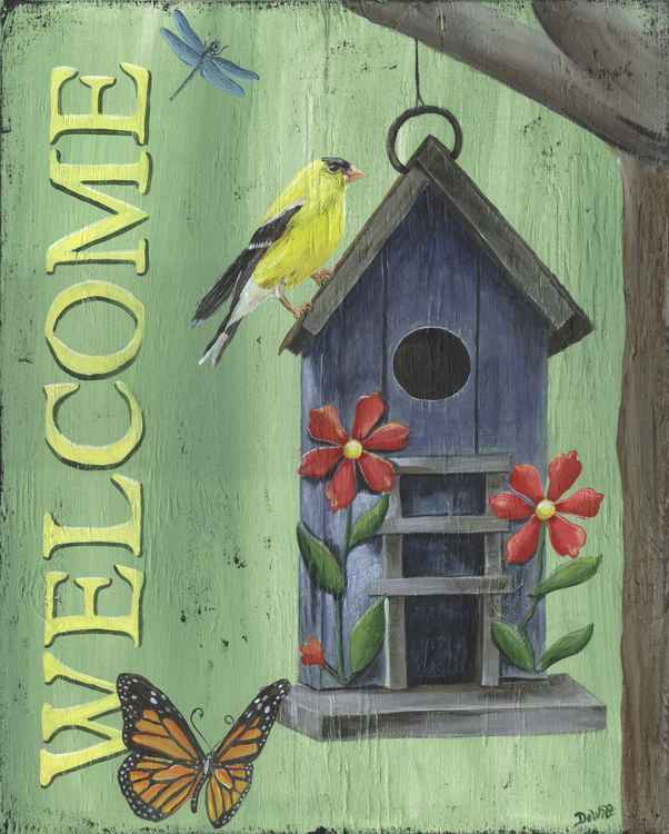 Welcome Goldfinch -